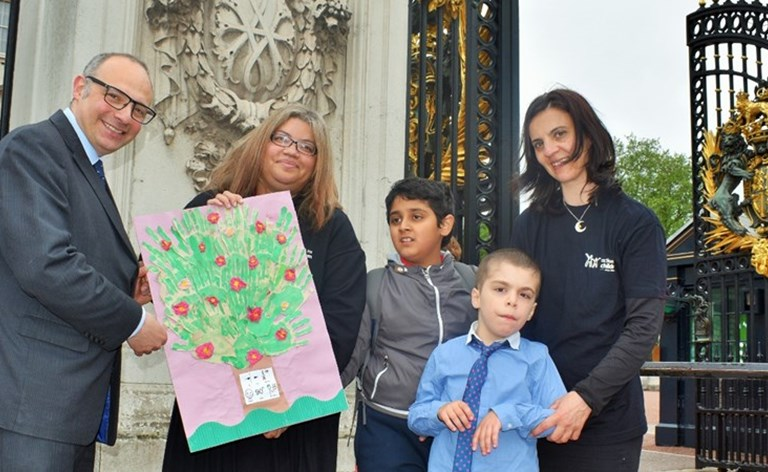 We Delivered A Birthday Card To The Queen Action For Children - Childrens birthday cards for the queen